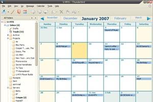 Como añadir un calendario en el Thunderbird