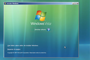 Como utilizar el disco de arranque de Windows Vista
