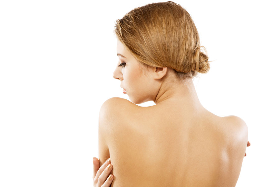 Cómo lucir una espalda perfecta
