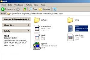 Como acceder al archivo httpd.conf de tu servidor web
