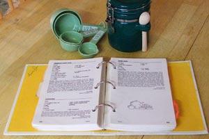 Cómo organizar las recetas