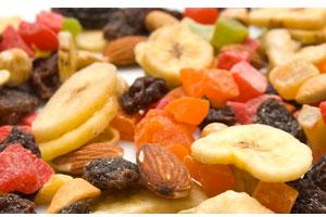 Cómo conservar inalterables las frutas secas