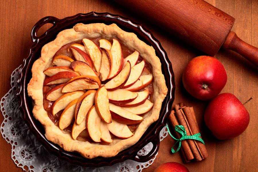 Recetas para hacer torta de manzanas. ingredientes y preparación de torta de manzanas. Cómo hacer una torta de manzanas casera