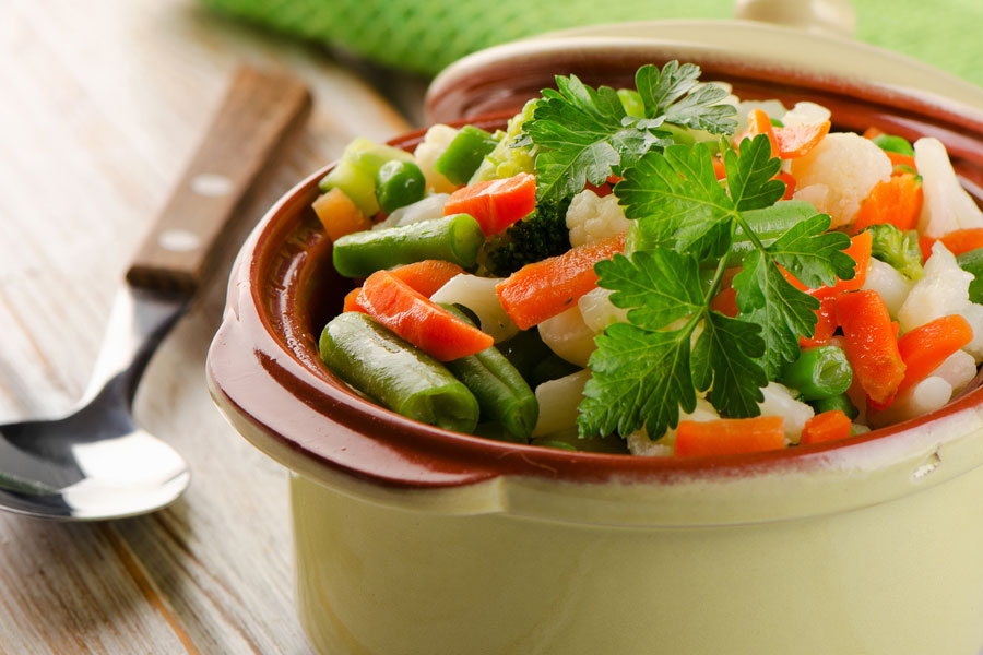 C mo cocinar las verduras al vapor - Como hacer verduras salteadas ...