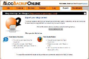 Como hacer una copia del Blog en forma automática