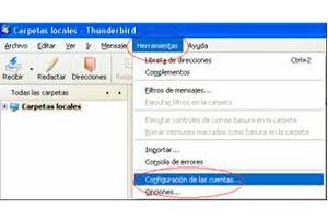 Cómo añadir y configurar RSS en Thunderbird