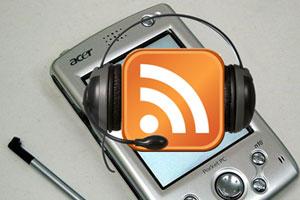 Cómo oir Podcast en una PDA