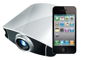 Cómo usar el iPod en presentaciones