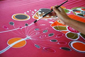 Método para pintar telas. Cómo pintar remeras o camisetas con pintura para tela. Guía para dibujar remeras y pintar telas