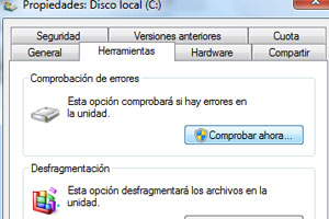 Cómo hacer un Scandisk en Windows XP