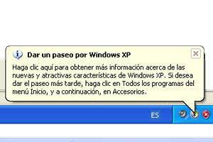 Cómo quitar los globos de notificación de Windows