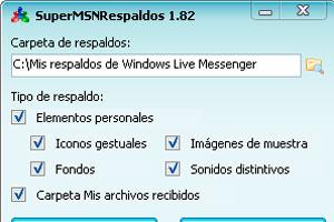 Como guardar una copia de los contactos del Messenger