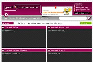 Como hacer un traceroute desde distintos lugares