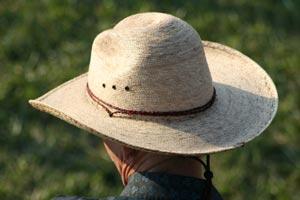 Cómo limpiar sombreros de paja