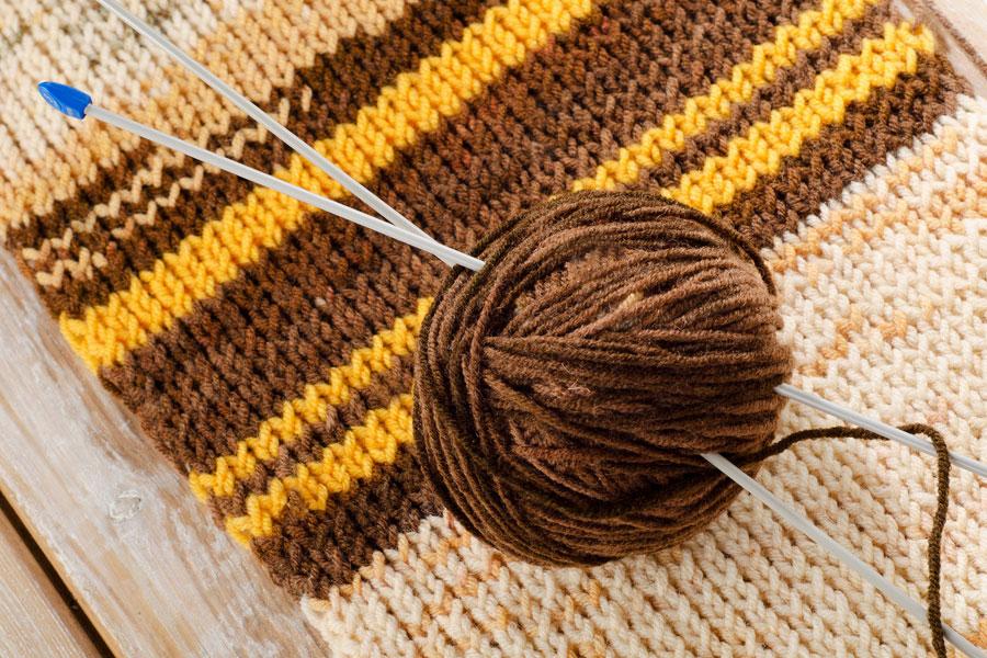 Como elegir la aguja para tejer seg n la lana o hilo - Puntos para tejer lana ...