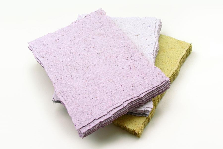 Cómo preparar papel reciclado (pulpa)