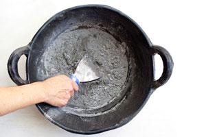 Cómo preparar pasta de piedra