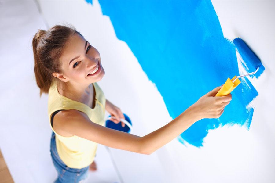 C mo pintar paredes nuevas - Como pintar las paredes ...