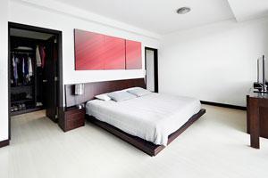 Como aprovechar el espacio en un dormitorio