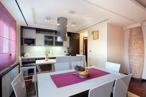 Cómo decorar una cocina o comedor de una casa pequeña.