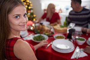 Cómo cuidarse con las comidas en las fiestas