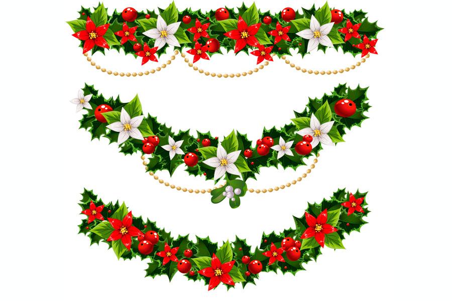 C mo decorar con guirnaldas en navidad - Como decorar de navidad ...