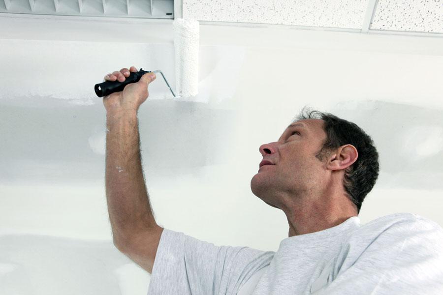 C mo pintar un techo - Como pintar techos ...