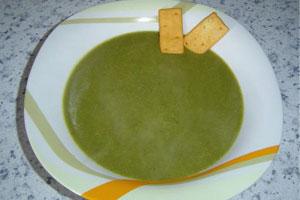 Cómo hacer sopa crema de espinacas en el microondas