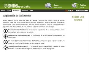 Cómo hacer para elegir una licencia Creative Commons