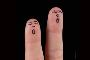 Cómo hacer títeres para dedos