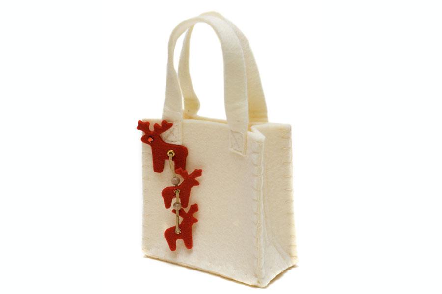 Cómo hacer un bolso de fieltro