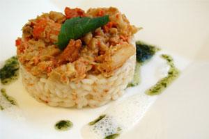 Cómo preparar risotto del mar