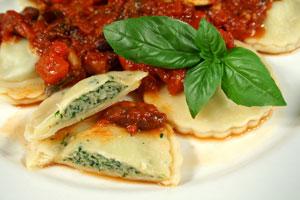 Cómo preparar Ravioles de Espinaca caseros
