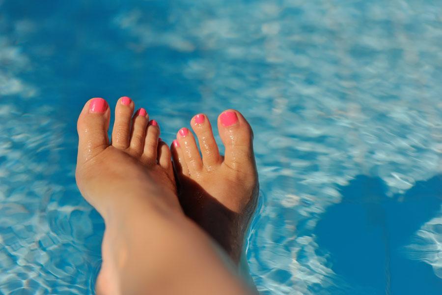 Cómo hidratar los pies