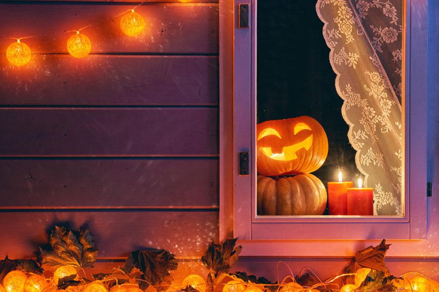 Cómo decorar una casa en Halloween