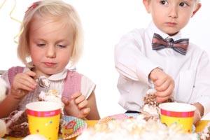 Cómo preparar el menú de un cumpleaños de acuerdo a las edades