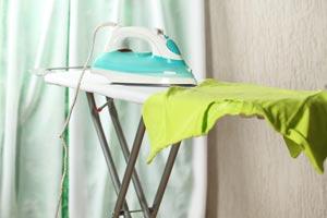 Cómo planchar telas con estampado