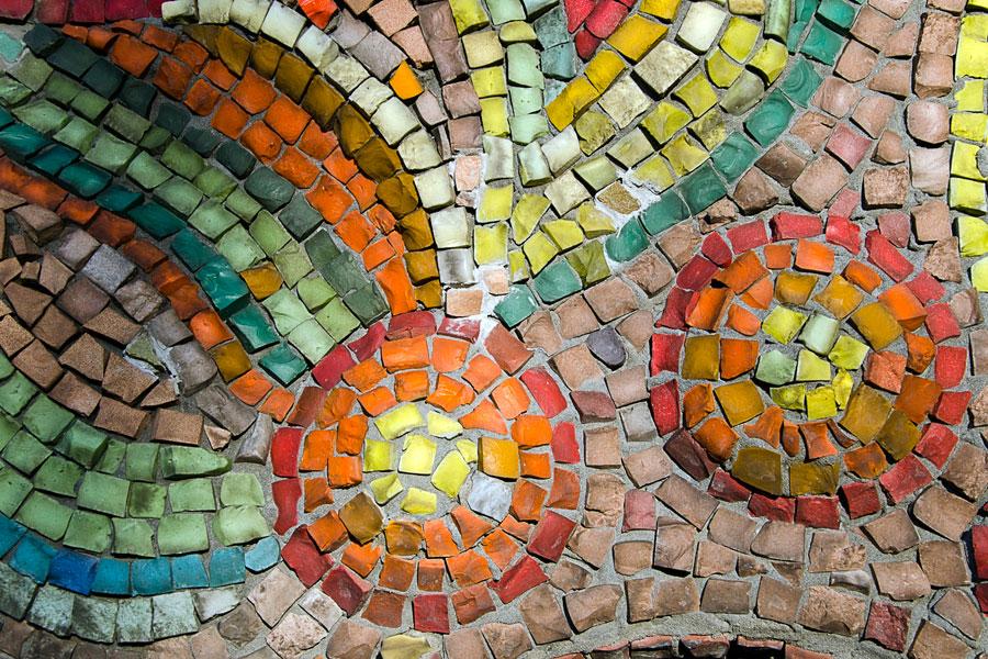 Cómo crear Mosaicos y símil Venecitas con Vidrios