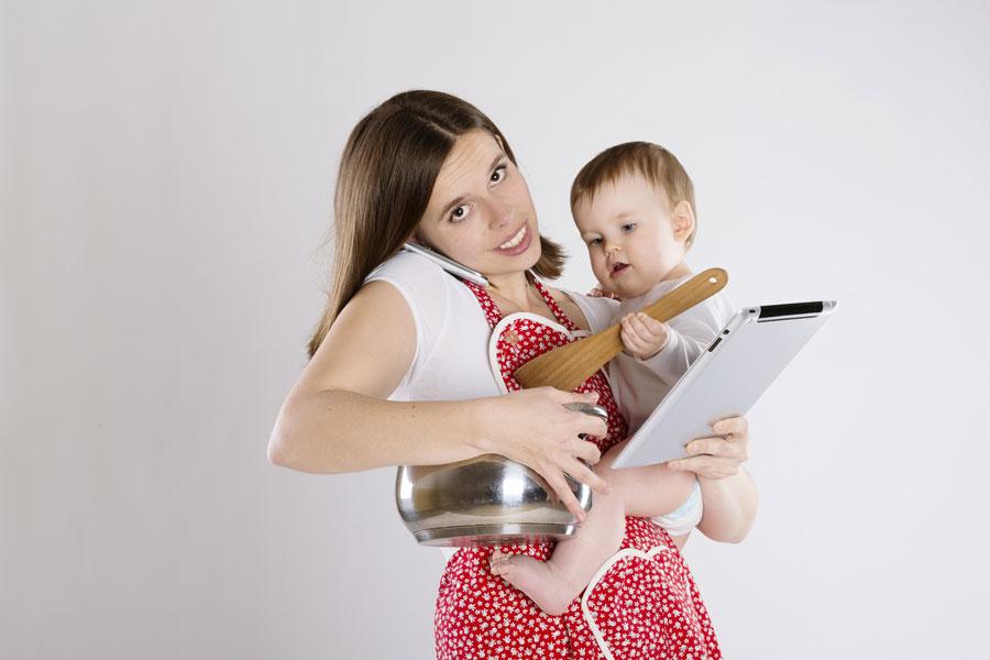 Cómo ser mamá y salir a trabajar