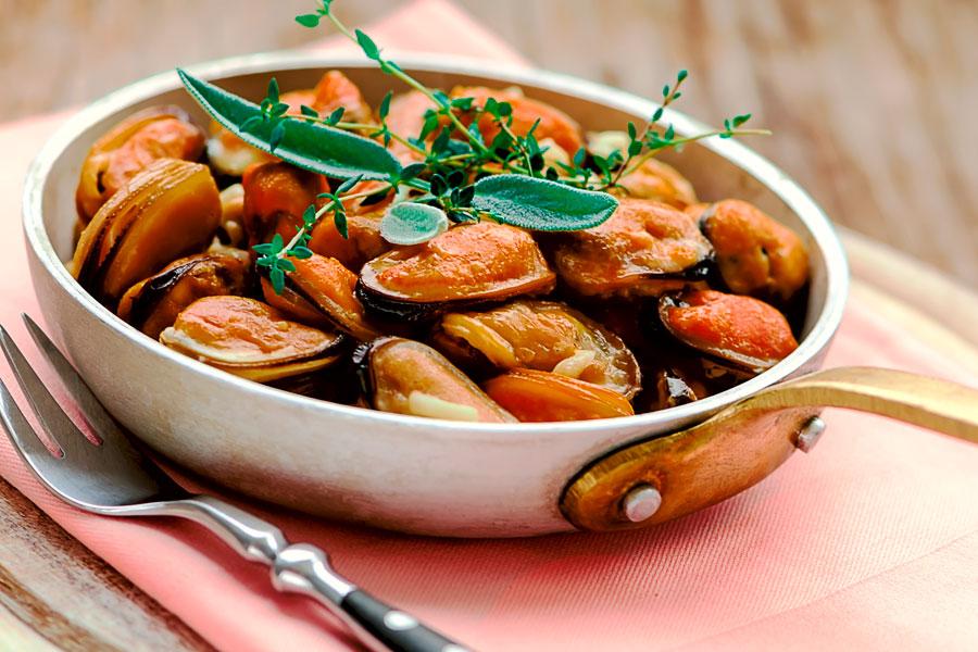 Como hacer mejillones a la provenzal. Ingredientes y preparación de mejillones a la provenzal. receta con mejillones