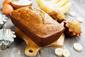 Cómo preparar pan de banana