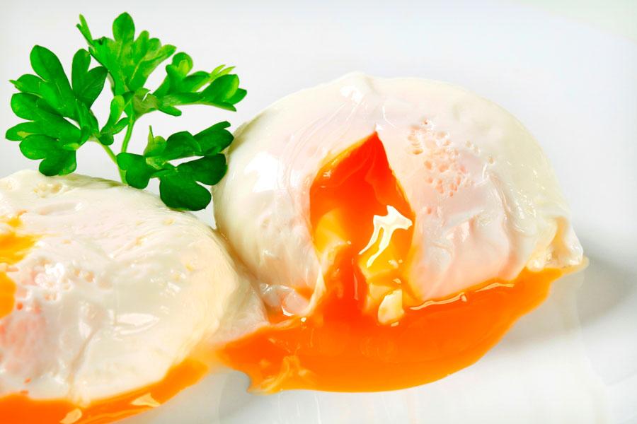 Resultado de imagen de fotos de huevo poché