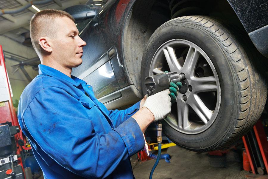 Cómo controlar los neumáticos
