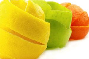 Como hacer adornos con frutas