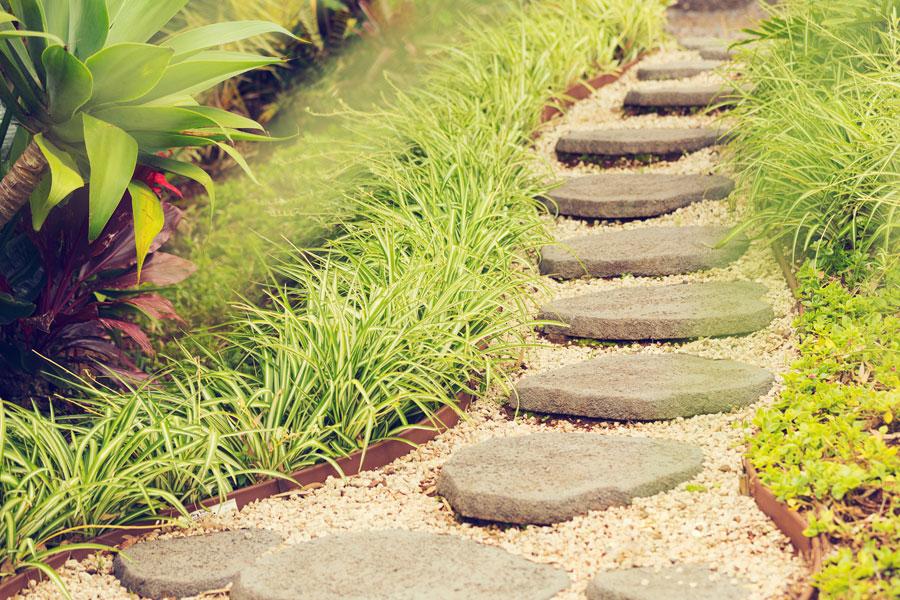 C mo hacer baldosas para el jard n for Ideas originales para jardines