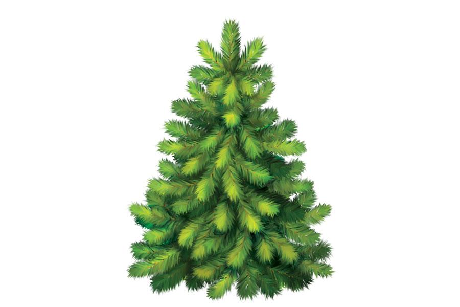 Adornos en forma de pino para navidad. Ideas para decorar la casa en navidad con adornos en forma de pinos navideños.