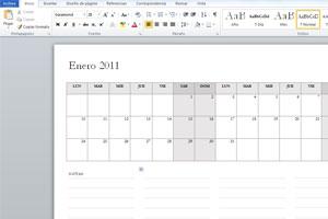 Guia para crear calendarios personales en word. Cómo hacer calendarios ya listos para imprimir en Word