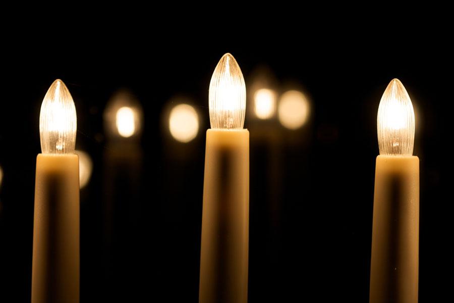 Velas electricas para ambientar en navidad. una idea original para hacer una vela electrica