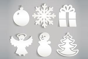 2 ideas para crear adornos de papel para el arbol de navidad. Adornos de papel para el pino en navidad. 2 ideas simples para hacer adornos de papel