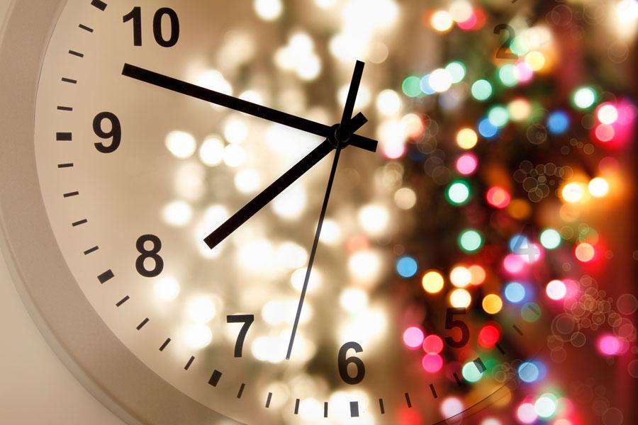 Un original reloj para esperar la llegada del año nuevo. Cómo hacer un reloj de cuenta regresiva para año nuevo